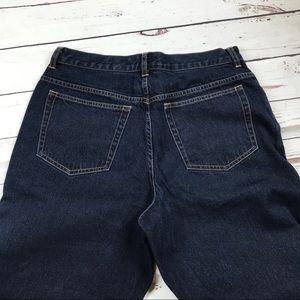 Women's Petite Eddie Bauer Size 14 Straight Jeans